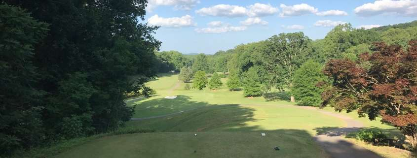 Tryon Country Club - Golf Course Hole #8